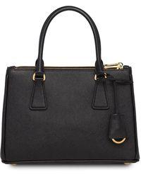 Prada Galleria Tote Bag - Black