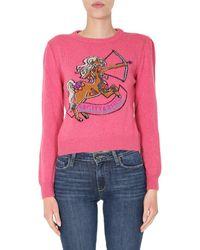 Alberta Ferretti Love Me Starlight Jumper - Pink