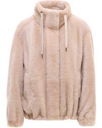 Brunello Cucinelli Sheepskin Jacket - Pink