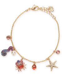 Swarovski Ocean Charm Bracelet - Metallic