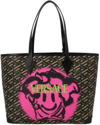 Versace Medusa Smile Tote Bag - Multicolour