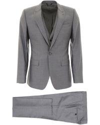 Dolce & Gabbana Three-piece Martini Suit - Gray