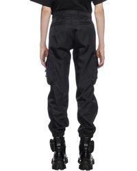 Prada Re-nylon Cargo Pants - Black