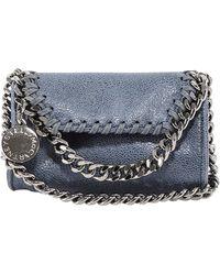 Stella McCartney Falabella Micro Crossbody Bag - Blue