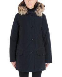 Woolrich Arctic Fur Trim Parka - Blue