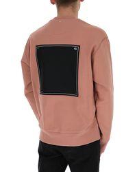 OAMC Logo Print Sweater - Pink