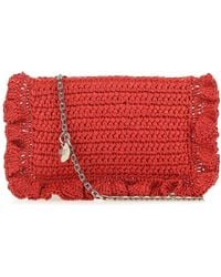 RED Valentino Ruffled Crossbody Bag - Red