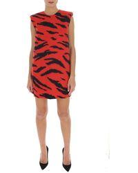 Philosophy Di Lorenzo Serafini Sleeveless Mini Dress - Red