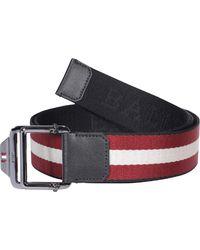 Bally Connor Buckle Belt - Multicolor
