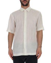 Issey Miyake Button-up Shirt - White