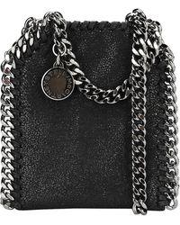 Stella McCartney Falabella Micro Tote Bag - Black
