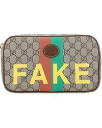 Gucci GG Supreme Fake/not Belt Bag - Multicolour