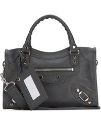 Balenciaga Classic City Mini Tote Bag - Grey