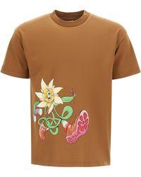 Jacquemus Randonnée Cotton T-shirt - Multicolour