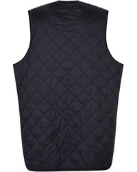 Barbour Reversible Quilted Zipped Vest - Black