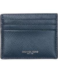 69023313a932 Michael Kors Wallet Men in Blue for Men - Lyst
