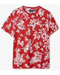 Polo Ralph Lauren Hawaiian Print T-shirt - Red