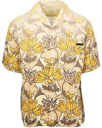 Prada Floral Print Shirt - Multicolor