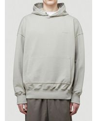 A_COLD_WALL* * Dissection Hooded Sweatshirt - Gray