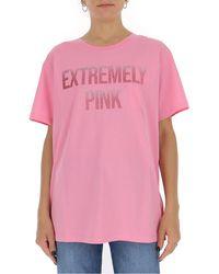 RED Valentino Oversized T-shirt - Pink