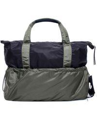 Moncler Genius Moncler X Craig Green Two-tone Tote Bag - Blue