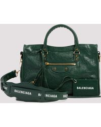 Balenciaga Classic City Small Handbag - Green