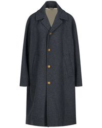 Marni Oversized Button-down Coat - Grey