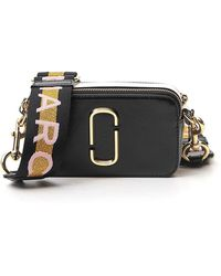 Marc Jacobs Logo Strap Snapshot Camera Bag - Black