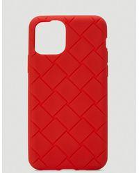 Bottega Veneta Iphone Xi Pro Case - Red