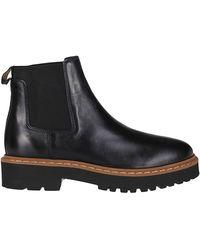 Hogan Chelsea Ankle Boots - Black