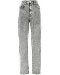Étoile Isabel Marant Corsysr High Rise Boyfriend Jeans - Gray