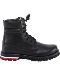 Moncler Vancouver Lace-up Ankle Boots - Black