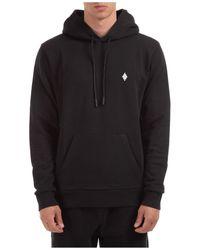 Marcelo Burlon Men's Hoodie Sweatshirt Sweat Cross - Black