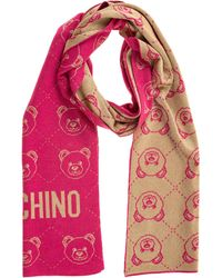 Moschino Women's Scarf Teddy - Pink