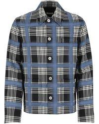 Marni Check Print Shirt Jacket - Multicolor