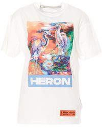 Heron Preston Short Sleeved T Shirt - White