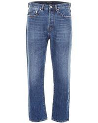 Valentino Classic Straight Leg Jeans - Blue