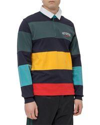 BBCICECREAM Striped Rugby Shirt - Multicolour