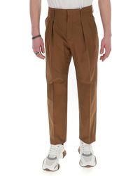 Valentino High-rise Pants - Brown