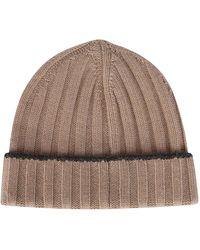 Brunello Cucinelli Knit Beanie - Natural