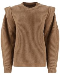 Isabel Marant Bolton Knitted Sweater - Brown
