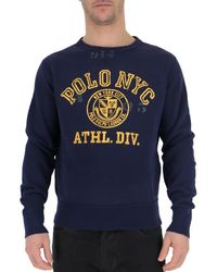 Polo Ralph Lauren Logo Pullover - Blue