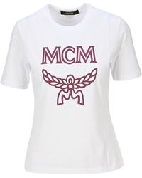 MCM T-shirt With Logo - White