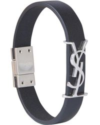 Saint Laurent Ysl Bracelet - Black