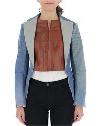 Junya Watanabe Contrast Jacket - Multicolour