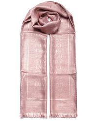 BVLGARI Logomania Stole - Pink