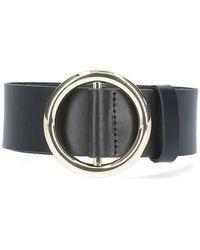 FRAME Le Circle Belt - Black