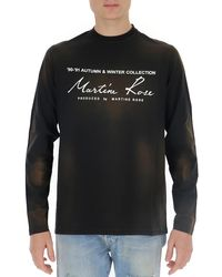 Martine Rose Logo T-shirt - Black