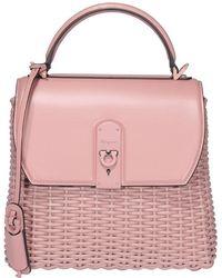 Ferragamo Boxyz Top Handle Bag - Pink