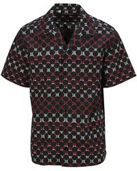 Dolce & Gabbana - Patterned Short-sleeve Shirt - Lyst